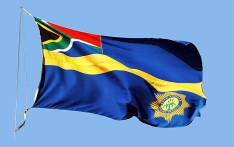 South African Police Service flag. Picture: SAPS