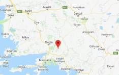 A magnitude  5.1 earthquake hit southwest Turkey on Friday, 24 November 2017. Picture: Google Maps.