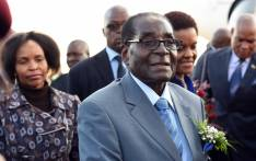 FILE: Zimbabwe President, Robert Mugabe and Mrs Grace Mugabe arriving at Waterkloof AirForce Base ahead of their state visit to South Africa on 7 April 2015. Picture: GCIS