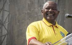 Cope leader Mosiuoa Lekota smiles before he addresses the crowd at the Freedom Movement rally against the leadership of President Jacob Zuma in Pretoria on 27 April 2017. Picture: Reinart Toerien/EWN.