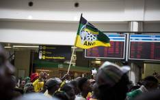 FILE: A member of the ANC Youth League waves a party flag. Picture: Reinart Toerien/EWN