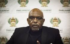 Co-Chairperson of the joint Standing Committe, Vincent Smith, during a media briefing on the  Review Committee tasked with review of Section 25 of the Constitution for expropriation of land without compensation in Kempton Park ,Johannesburg  24 June 2018. Picture: Sethembiso Zulu/EWN
