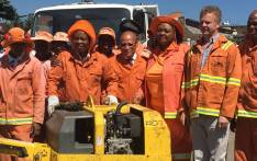 Johannesburg Mayor Herman Mashaba, together with transport officials, conducted road inspections in Ivory Park and in the Midrand CBD on 28 March 2017. Picture: Katleho Sekotho/EWN.