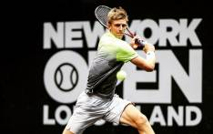 Kevin Anderson in action. Picture: @KAndersonATP/Twitter