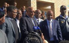 President Jacob Zuma visits Lusikisiki community in the Eastern Cape on Saturday, 24 June 2017. Picture: Twitter @SAPoliceService