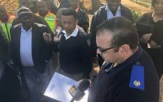 Members affiliated to least 11 taxi associations in Johannesburg handed over a memorandum of demands on 25 June 2018 during a strike that left several commuters stranded. Picture: Mia Lindeque/EWN.