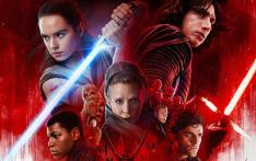 The poster for 'Star Wars: The Last Jedi'