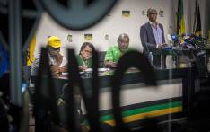 FILE: Members of the ANC's NEC address the Press on whether President Jacob Zuma will step down. Picture: Thomas Holder/EWN