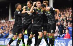 Chelsea took a major step towards the Premier League title with an impressive 3-0 win over Everton at Goodison Park on Sunday, 30 April 2017. Picture: Twitter @ChelseaFC