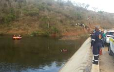 Seven people were killed after the car they were travelling in plunged into a dam in KwaZulu-Natal on Sunday 24 September 2017. Picture: Twitter/@kznems
