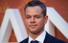 US actor Matt Damon.Picture: AFP
