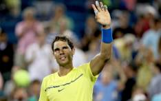 Rafael Nadal of Spain celebrates his win over Richard Gasquet of France during day 5 of the Western & Southern Open at the Lindner Family Tennis Center on 16 August, 2017 in Mason, Ohio. Picture: AFP.