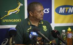 FILE: Springbok coach Allister Coetzee during a press conference. Picture: Cindy Archillies/EWN