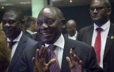 FILE: ANC President Cyril Ramaphosa . Picture: Sethembiso Zulu/ EWN.