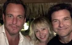 'Arrested Development' co-stars Will Arnett, Portia de Rossi and Jason Bateman. Picture: @arnettwill/Instagram.