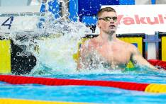 Briton Adam Peaty smashed his own world record in the men's 50 meters breaststroke at the world championships. Picture: Twitter/@britishswimming.