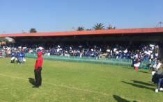 Freedom Movement supporters at the Caledonian Stadium in Pretoria. Picture: Pelane Phakgadi/EWN