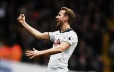 Tottenham striker Harry Kane celebrates a goal. Picture: @SpursOfficial/Twitter