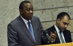 FILE: Kenyan President Uhuru Kenyatta. Picture: AFP.