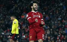 Liverpool's Mohamed Salah celebretes his goal against Watford in the English Premier League on 17 March 2018. Picture: Facebook