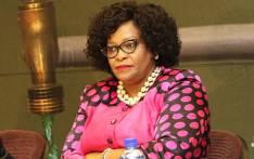 FILE: Communications Minister Nomvula Mokonyane. Picture: @DWS_RSA/Twitter