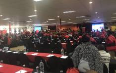 Cosatu delegates at the central committee meeting at the Saint George's Hotel in Pretoria. Picture: Clement Manyathela/EWN.