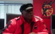 Deputy general-secretary Solly Phetoe. Picture: @_cosatu/Twitter.