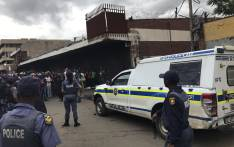Group of protesters says they want to search foreign owned shops. Picture: Clement Manyathela/EWN.