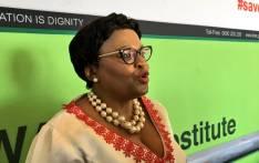FILE: Water and Sanitation Minister Nomvula Makonyane Picture: Katleho Sekhotho/EWN