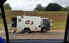 A motorist filmed an armed robbery and cash in transit heist on the N4 near Akasia. Picture: Supplied