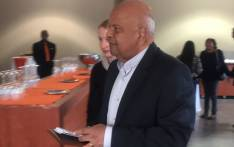 Former finance minister Pravin Gordhan at the University of Johannesburg. Picture: Masa Kekana/EWN.