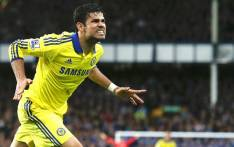 FILE: Diego Costa celebrates scoring a goal for Chelsea. Picture: AFP