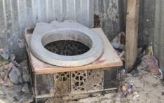 FILE: A pit toilet. Picture: Cindy Archillies/EWN
