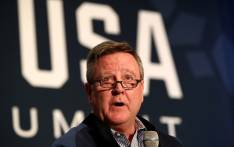 USOC CEO Scott Blackmun addresses the media during the Team USA Media Summit ahead of the PyeongChang 2018 Olympic Winter Games on September 25, 2017 in Park City, Utah. Picture: AFP.