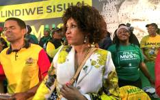 ANC presidential hopeful Lindiwe Sisulu at an event in Kliptown on 22 July 2017. Picture: Katleho Sekhotho/EWN