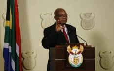 Jacob Zuma addressed the nation at the Union Buildings on 14 February 2018, saying that he resigned 'with immediate effect' as President of South Africa. Picture: AFP.