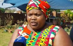 Gauteng Community Safety MEC Sizakele Nkosi-Malobane. Picture: Louise McAuliffe/EWN.