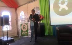 Former President Kgalema Motlanthe at the launch of Oxfam in Johannesburg at Constitution Hill. Picture: Thando Kubheka/EWN