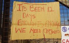 A sign outside the substation where Yende was last seen. Her body was found after she went missing on 17 May 2017. Picture: Supplied