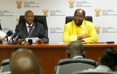Mr Ronnie Mamoepa, left, is seen with Statistician-General Pali Lehohla in this 2012 file photo. Picture: GCIS.