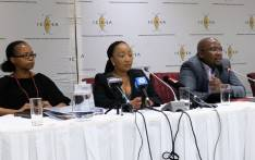 Icasa's councillor Botlenyana Mokhele realising their final regulations on data bundles. Picture:  @ICASA_org/Twitter.
