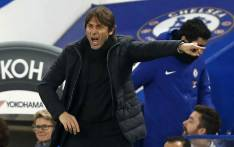 FILE: Chelsea's Italian head coach Antonio Conte gestures on the touchline during the English League Cup semi-final first leg football match between Chelsea and Arsenal at Stamford Bridge in London on 10 January 2018. Picture: AFP