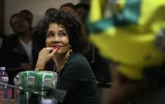 Lindiwe Sisulu, who's an ANC presidential candidate, was open about her decision to accept the nomination. Photo: Bertram Malgas