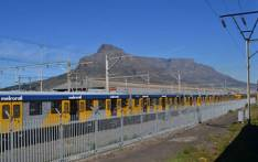 A Metrorail train seen in Cape Town. Picture: EWN.