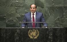Egyptian President Abdel Fattah Al Sisi. Picture: United Nations Photo.