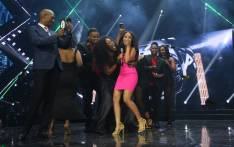Paxton Fielies (in pink) is congratulated after winning Season 13 of 'Idols SA'. Picture: EWN