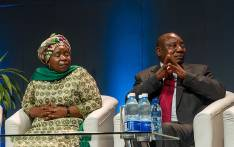 Nkosazana Dlamini Zuma and Cyril Ramaphosa. Picture: GCIS