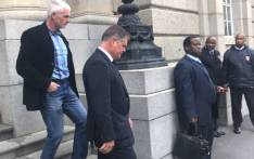 Murder accused Jason Rohde leaves the Western Cape High Court on 18 August 2017. Picture: Shameila Fisher/EWN