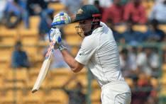 Australian batsman Shaun Marsh. Picture: AFP.