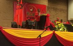SACP General Secretary Blade Nzimande addressing the YCLSA at its 3rd National Council in Soweto. Picture: Masa Kekana/EWN.